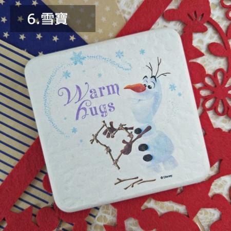 【情人節禮物】雪寶-正版迪士尼珪藻土吸水方墊