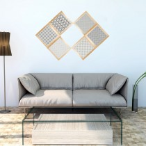 DIY珪藻土復古花磚-極簡永恆1入組加贈木框 (多種花色可選)