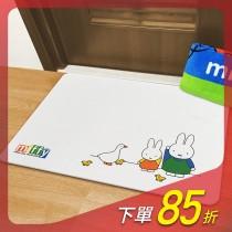 【MBM】米菲兔上學去_L號水洗式珪藻土地墊 建材做的地墊